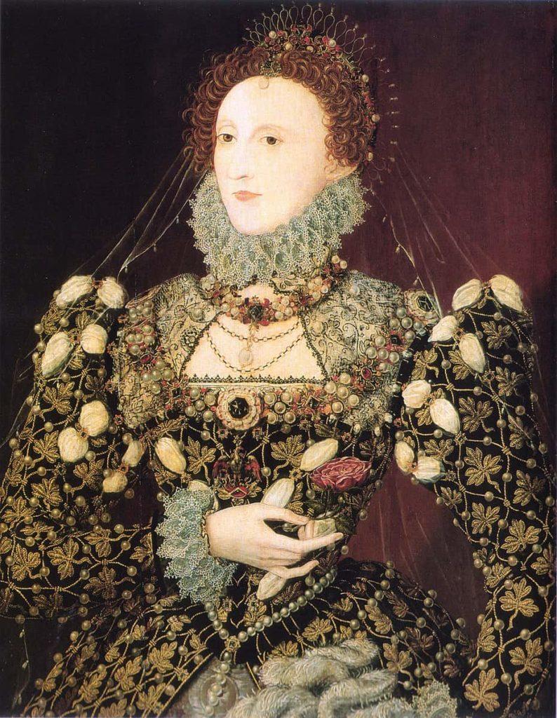 Elisabeth 1er portrait Le Phoenix