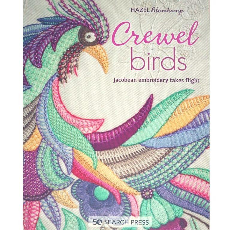 Book Crewel Birds Hazel Blamkamp