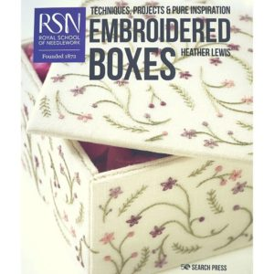 Embroidered Boxes Book by Heather Lewis