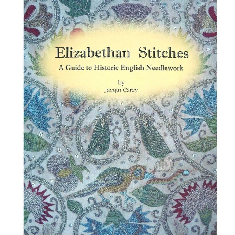 Book Elizabethan Stitches bu Jacquie Carey