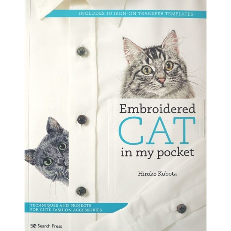 Livre Embroidered Cat in my pocket de Hiroko Kubota