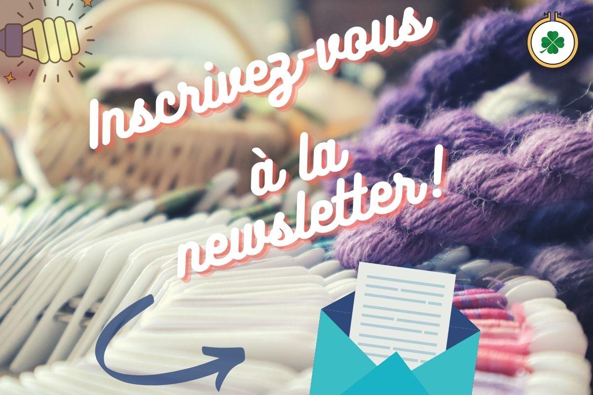 Inscription à la newsletter les ateliers d'Armande